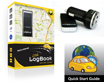 Little LogBook GPS Trip Logger - travel claims made easy!
