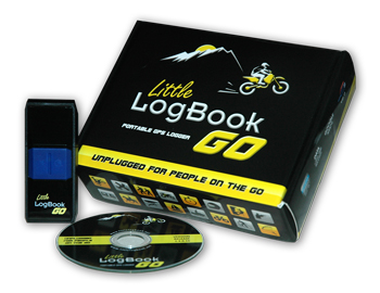 Little LogBook GO Portable GPS Logger - Unplugged for People on the GO!