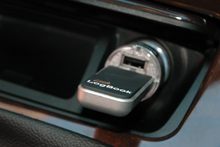 Little LogBook plugs into your car cigarette lighter socket