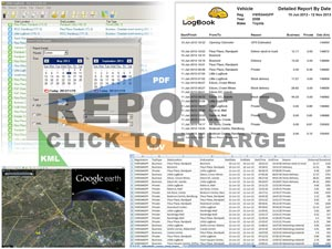 Generate reports with Little LogBook's powerful software.